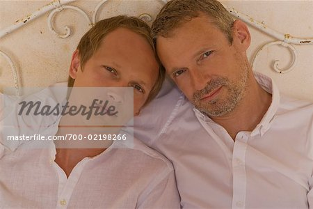 Couple in Bed Stock Photo - Rights-Managed, Image code: 700-02198266