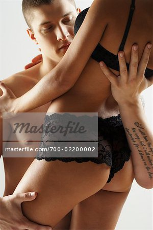Man Caressing Woman Stock Photo - Rights-Managed, Image code: 700-02200002