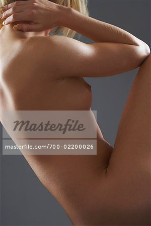 Side View of Nude Woman