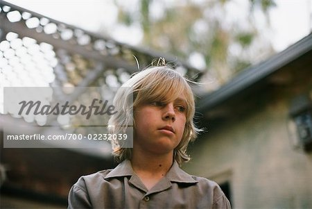 Portrait of Boy, Newport Beach, California, USA Stock Photo - Rights-Managed, Image code: 700-02232039