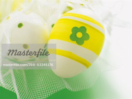 Close-up of Easter Eggs Stock Photo - Rights-Managed, Image code: 700-02245176