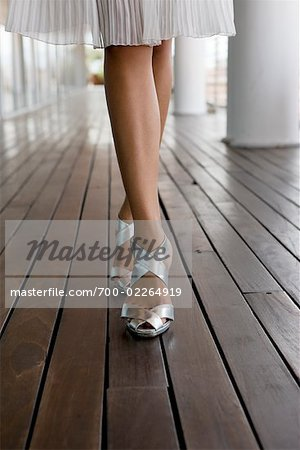 Close-up of Woman's Shoes Stock Photo - Rights-Managed, Image code: 700-02264919
