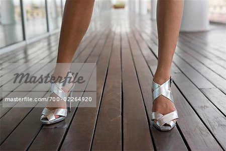 Close-up of Woman's Shoes    Stock Photo - Premium Rights-Managed, Artist: Siephoto, Code: 700-02264920