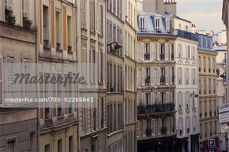 Apartments in Montmartre, Paris, France