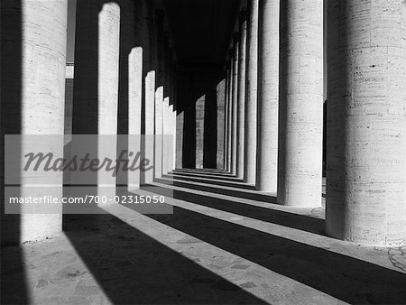 Columns, Esposizione Universale Roma, Rome, Italy Stock Photo - Rights-Managed, Image code: 700-02315050