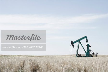 Oil Drill in Field, Alberta, Canada Stock Photo - Rights-Managed, Image code: 700-02332741