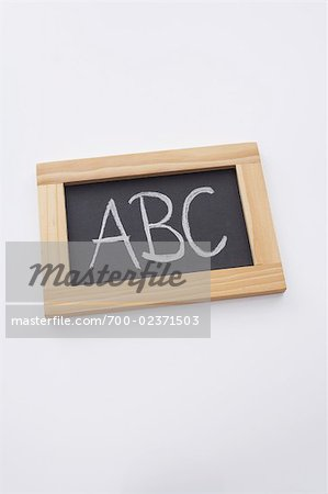 Close-up of Chalkboard Stock Photo - Rights-Managed, Image code: 700-02371503