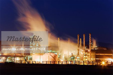 Petroleum Refinery at Mossel Bay, Western Cape, South Africa Stock Photo - Rights-Managed, Image code: 700-02377258