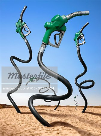 Oil Pumps in Desert Stock Photo - Rights-Managed, Image code: 700-02377624