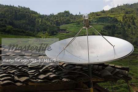 Satellite Dish, Longsheng County, China