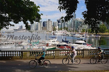 Stanley Park, Coal Harbour, Vancouver, British Columbia, Canada Stock Photo - Rights-Managed, Image code: 700-02519103