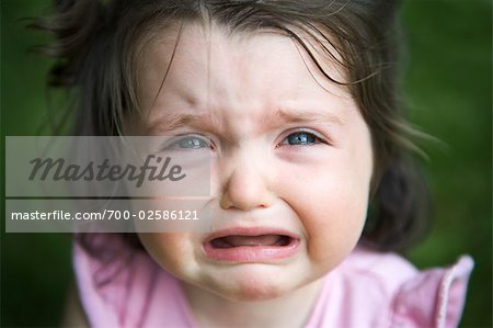 Girl Crying Stock Photo - Rights-Managed, Image code: 700-02586121