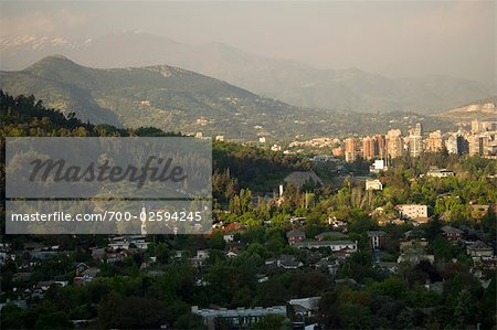 Overview of Santiago, Chile Stock Photo - Rights-Managed, Image code: 700-02594245