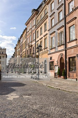 Old Town Market Place, Old Town, Warsaw, Poland Stock Photo - Rights-Managed, Image code: 700-02633766
