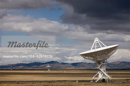 VLA Radio Telescopes, Socorro, New Mexico, USA Stock Photo - Rights-Managed, Image code: 700-02638170