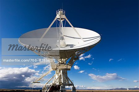 VLA Radio Telescope, Socorro, New Mexico, USA