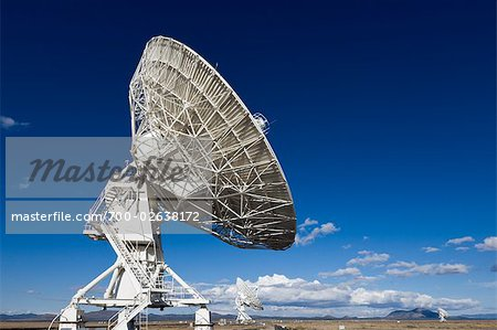 VLA Radio Telescopes, Socorro, New Mexico, USA Stock Photo - Rights-Managed, Image code: 700-02638172