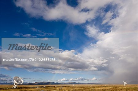 VLA Radio Telescope, Socorro, New Mexico, USA Stock Photo - Rights-Managed, Image code: 700-02638173
