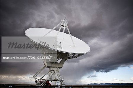 VLA Radio Telescopes, Socorro, New Mexico, USA Stock Photo - Rights-Managed, Image code: 700-02638174