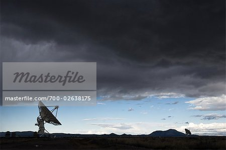 VLA Radio Telescopes, Socorro, New Mexico, USA Stock Photo - Rights-Managed, Image code: 700-02638175