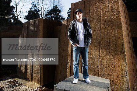Portrait of Young Man, Portland, Oregon, USA Stock Photo - Rights-Managed, Image code: 700-02645670