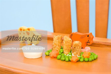 Food and Toys on Highchair Tray Stock Photo - Rights-Managed, Image code: 700-02669898