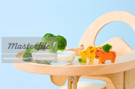 Food and Toys on Highchair Tray Stock Photo - Rights-Managed, Image code: 700-02669899