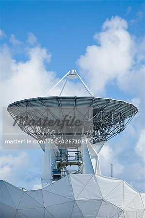 Satellite Dish, Florida, USA    Stock Photo - Premium Rights-Managed, Artist: Elke Esser, Code: 700-02671081