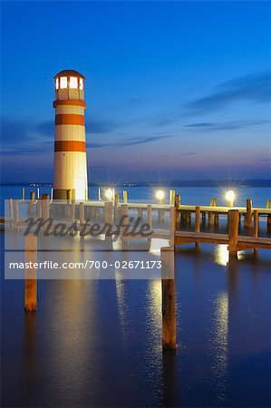 Lighthouse, Lake Neusiedl, Burgenland, Austria
