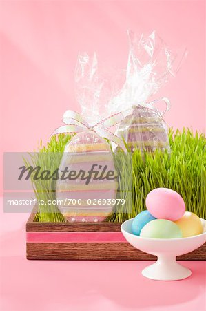 Easter Eggs and Cookies Stock Photo - Rights-Managed, Image code: 700-02693979