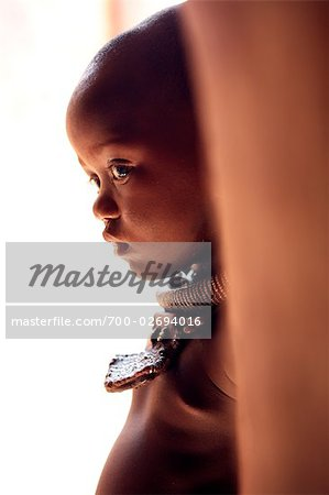 Himba Girl, Opuwo, Namibia Stock Photo - Rights-Managed, Image code: 700-02694016