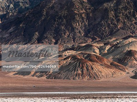 Camper on Desert Road Through Death Valley National Park, California, USA Stock Photo - Rights-Managed, Image code: 700-02694069