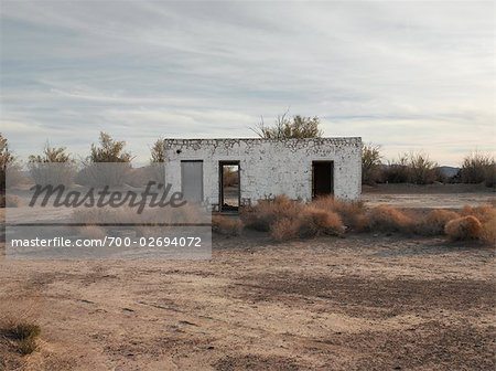 Abandoned Building, Death Valley, California, USA Stock Photo - Rights-Managed, Image code: 700-02694072