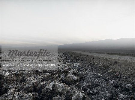 Road Through Death Valley, California, USA Stock Photo - Rights-Managed, Image code: 700-02694089