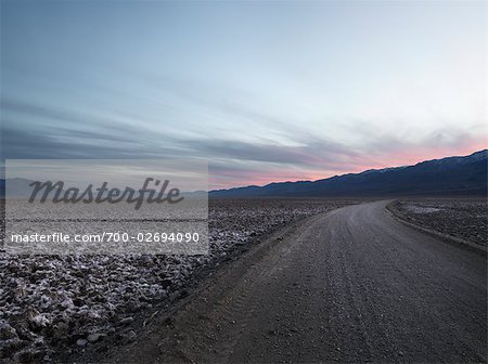 Road Through Death Valley, California, USA Stock Photo - Rights-Managed, Image code: 700-02694090