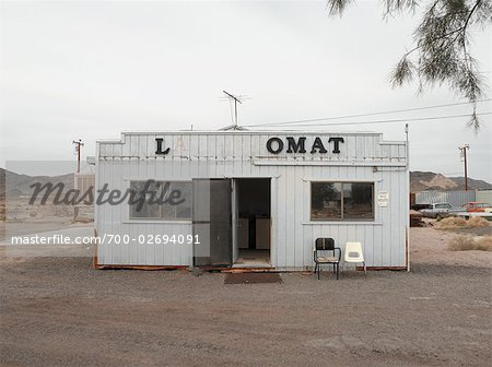 Laundromat, Southern New Mexico, USA Stock Photo - Rights-Managed, Image code: 700-02694091