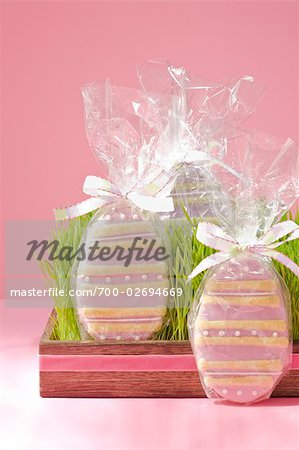 Easter Egg Cookies Stock Photo - Rights-Managed, Image code: 700-02694669