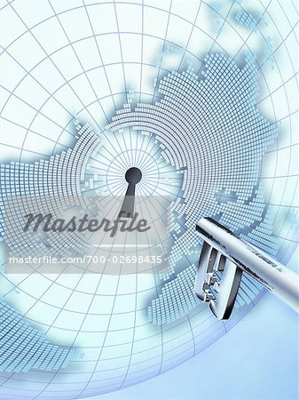 Key to the World Stock Photo - Rights-Managed, Image code: 700-02698435