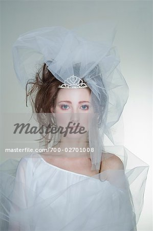 Portrait of Bride Stock Photo - Rights-Managed, Image code: 700-02701008
