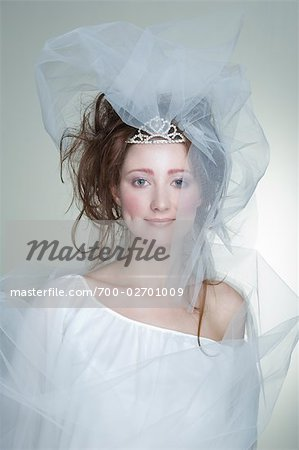 Portrait of Bride Stock Photo - Rights-Managed, Image code: 700-02701009