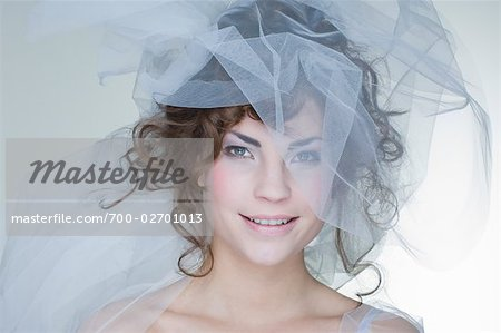Portrait of Bride Stock Photo - Rights-Managed, Image code: 700-02701013