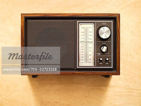 Retro 1970s Radio Stock Photo - Rights-Managed, Image code: 700-02723158