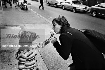 Mother and Daughter, Brooklyn, New York City, New York, USA Stock Photo - Rights-Managed, Image code: 700-02738756