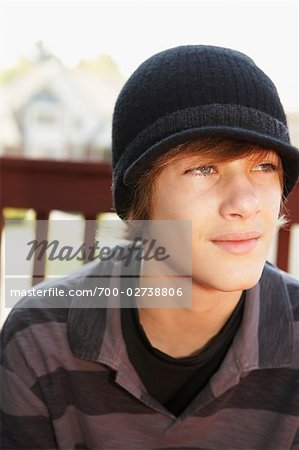 Portrait of Teenage Boy Stock Photo - Rights-Managed, Image code: 700-02738806