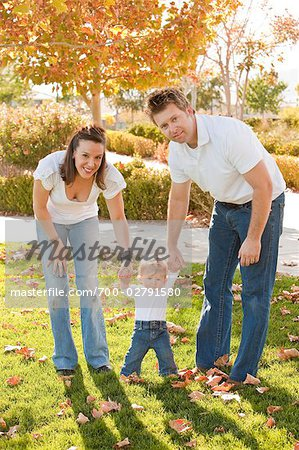 Family Outdoors Stock Photo - Rights-Managed, Image code: 700-02791580