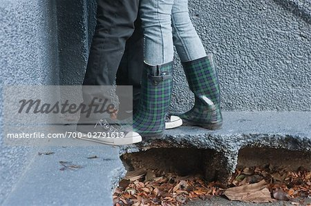 Couple's Legs Stock Photo - Rights-Managed, Image code: 700-02791613