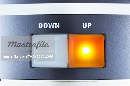 Down and Up Buttons Stock Photo - Rights-Managed, Image code: 700-02801086