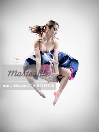 Portrait of Dancer Stock Photo - Rights-Managed, Image code: 700-02833505