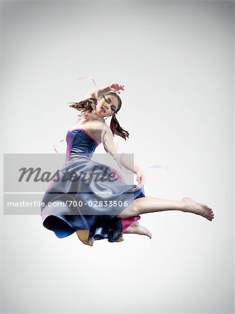 Portrait of Dancer Stock Photo - Rights-Managed, Image code: 700-02833506