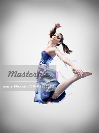 Portrait of Dancer Stock Photo - Rights-Managed, Image code: 700-02833507